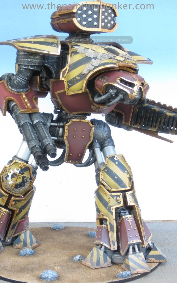 Forge World Reaver Titan 1 via www.thepaintingbunker.com