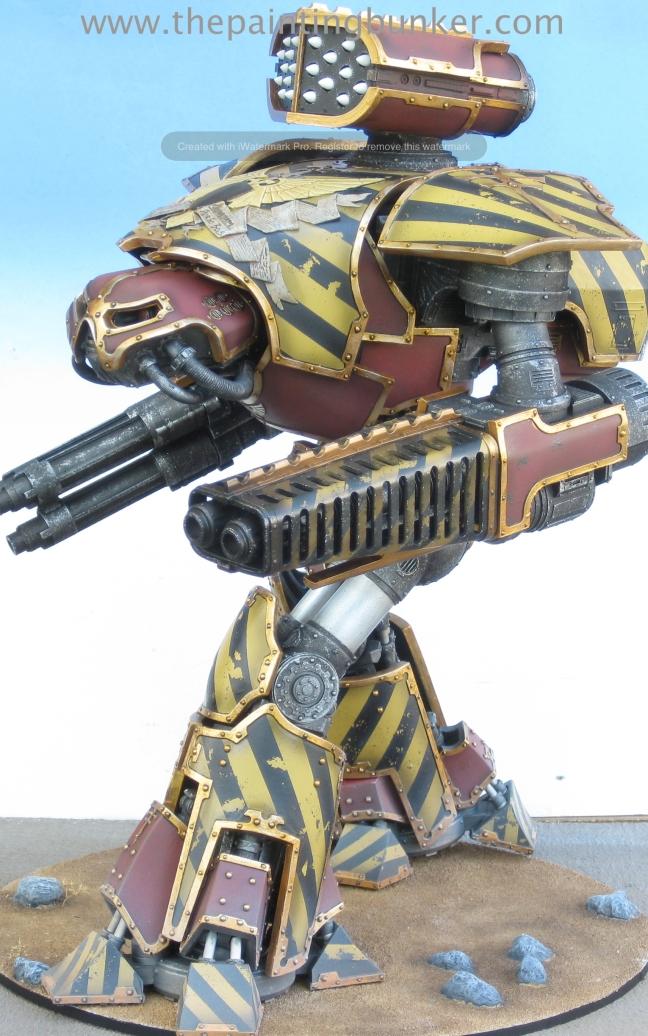 Forge World Reaver Titan 2 via www.thepaintingbunker.com