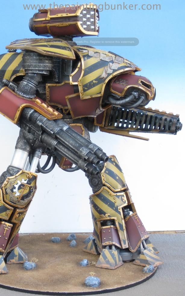 Forge World Reaver Titan 3 via www.thepaintingbunker.com