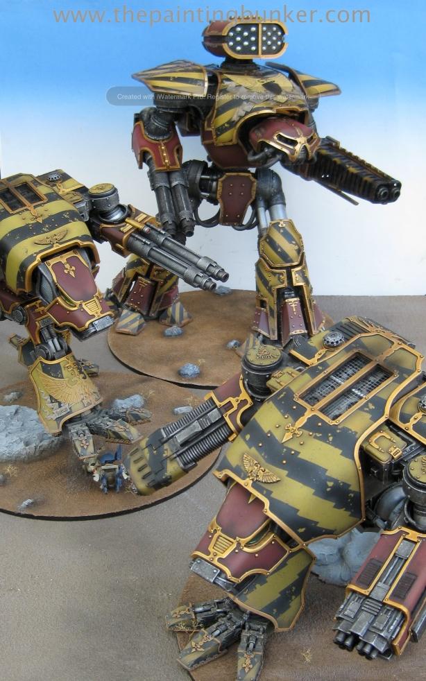 Forge World Reaver Titan 9 via www.thepaintingbunker.com