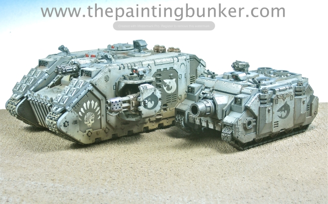 Carcharodon Space Marine Vindicator 5 via www.thepaintingbunker.com