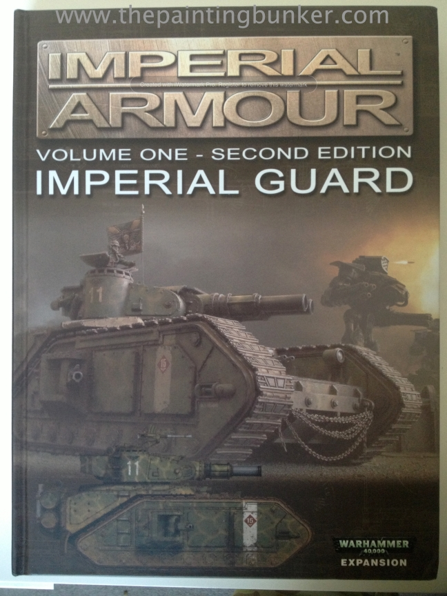 Forge World Imperial Armour Volume 1 Second Edition Cover via www.thepaintingbunker.com.au