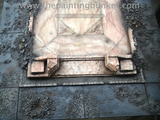 Forge World Realm of Battle Cityscape Shattered Plaza 4 via www.thepaintingbunker.com