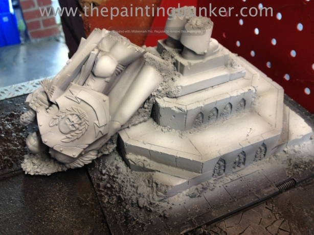 Forge World Realm of Battle Cityscape Concourse Sector Honored Imperium Statue 12 via www.thepaintingbunker.com