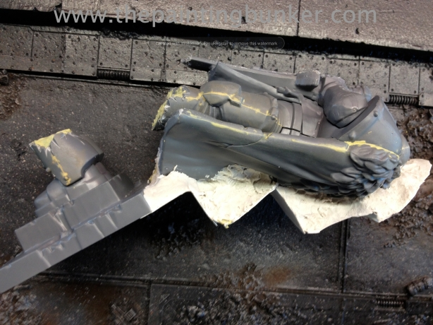Forge World Realm of Battle Cityscape Concourse Sector Honored Imperium Statue 5 via www.thepaintingbunker.com