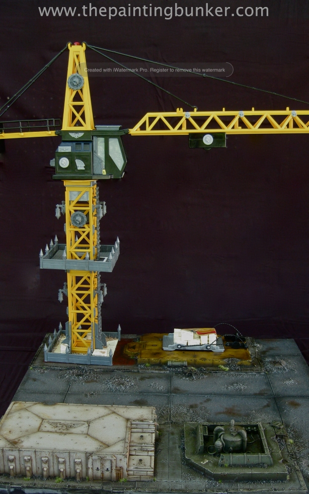 Forge World Realm of Battle Cityscape Generatorum Sector Crane 2 via www.thepaintingbunker.com