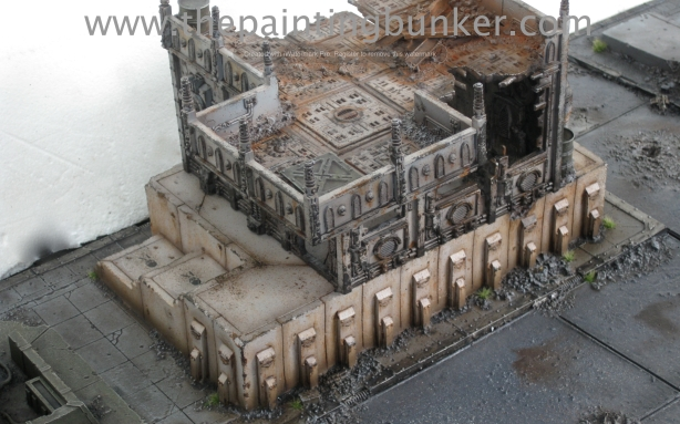 Forge World Realm of Battle Cityscape Generatorum Sector The Crane - Finished 10 via www.thepaintingbunker.com