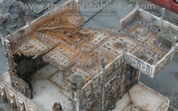 Forge World Realm of Battle Cityscape Generatorum Sector The Crane - Finished 7 via www.thepaintingbunker.com