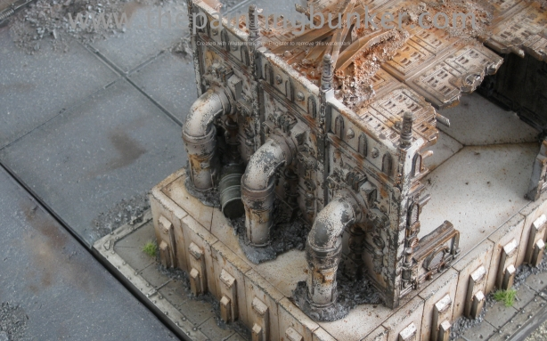 Forge World Realm of Battle Cityscape Generatorum Sector The Crane - Finished 8 via www.thepaintingbunker.com