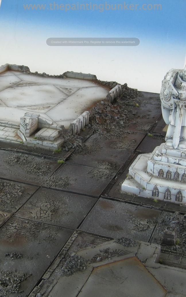 Forge World Realm of Battle Cityscape Shattered Plaza 1 via www.thepaintingbunker.com