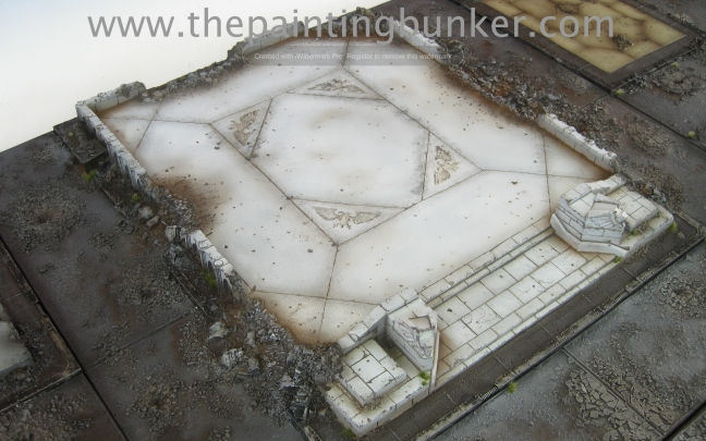 Forge World Realm of Battle Cityscape Shattered Plaza 3 via www.thepaintingbunker.com