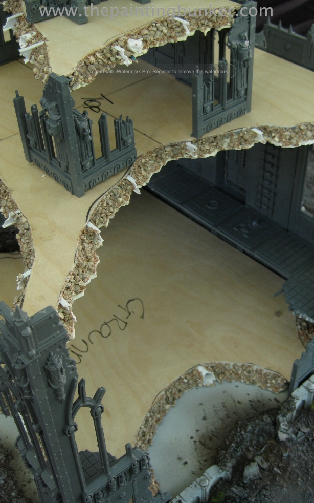 Forge World Realm of Battle Cityscape Shattered Plaza Cathedral 5 via www.thepaintingbunker.com