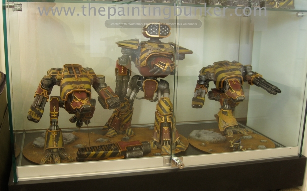 The Painting Bunker Dispaly Cabinet Forge World Titans via www.thepaintingbunker.com