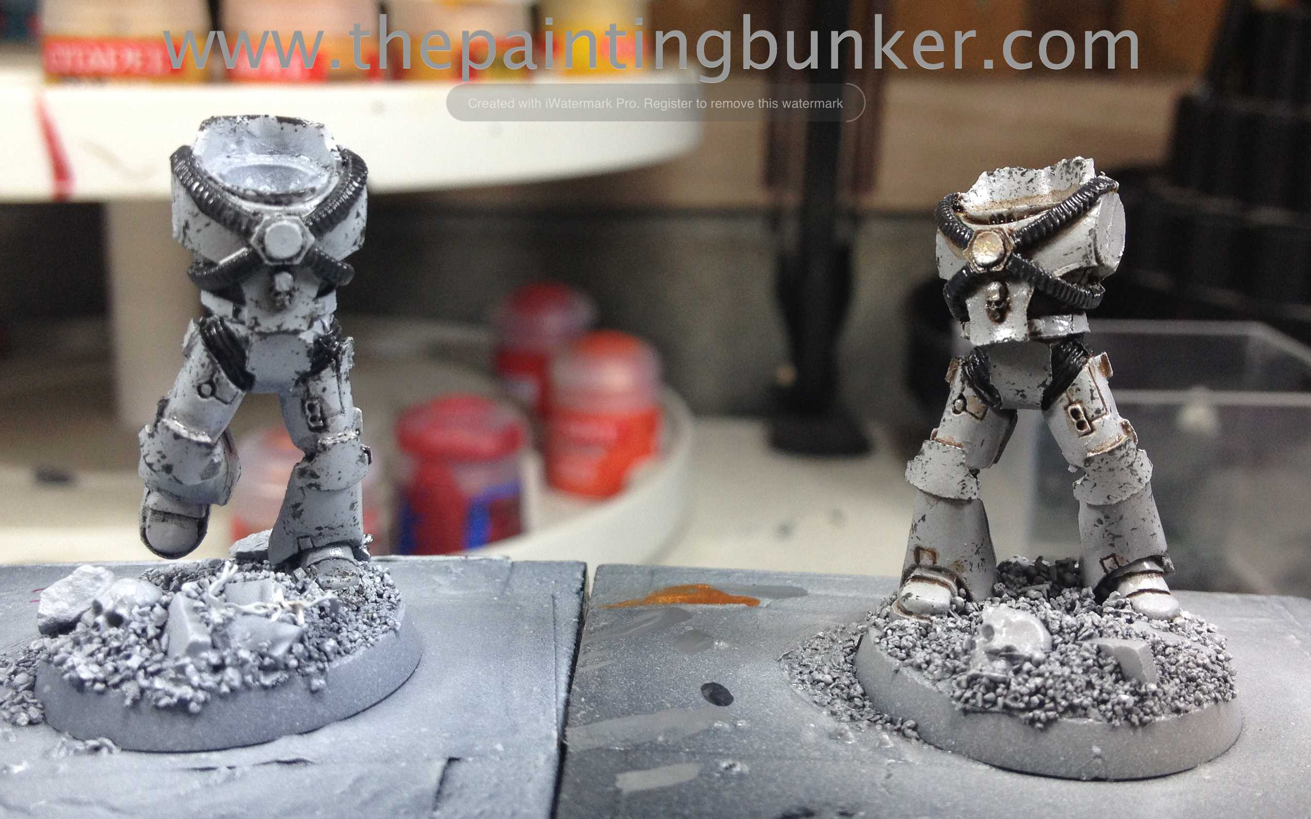 How to paint World Eater Space Marines | The Painting Bunker