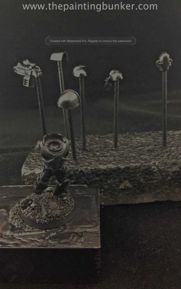 How to paint World Eater Space Marines (2/6)
