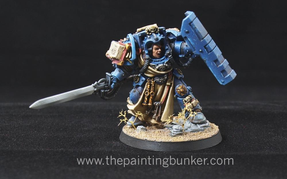 Iron Hands Librarian in Terminator Armour (1/4)