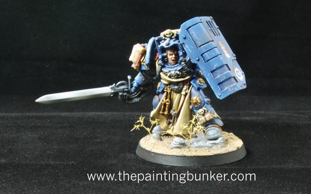Iron Hands Librarian in Terminator Armour (2/4)