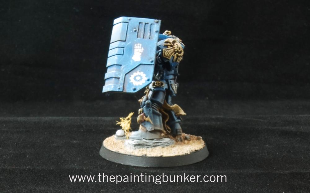 Iron Hands Librarian in Terminator Armour (3/4)