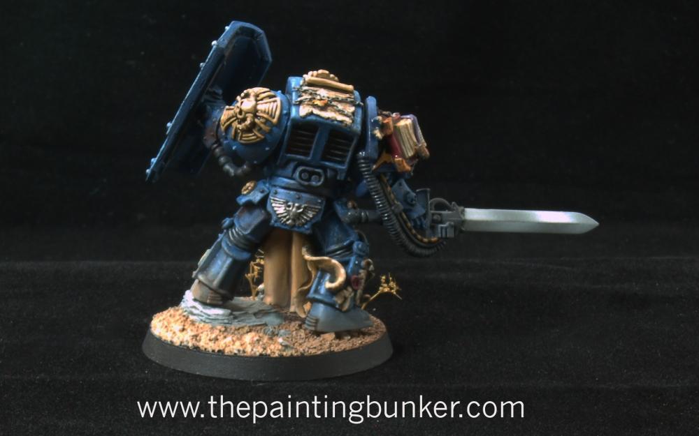Iron Hands Librarian in Terminator Armour (4/4)