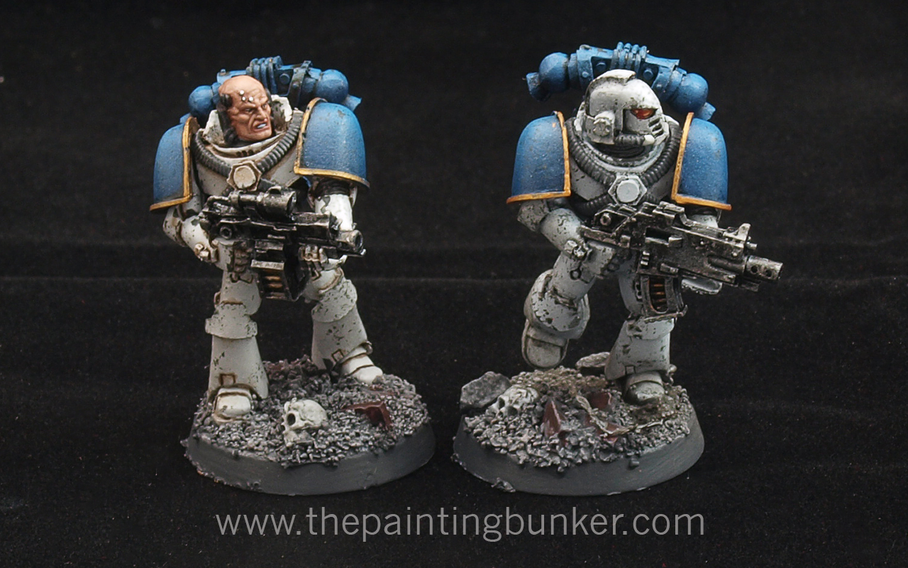 How to paint World Eater Space Marines | The Painting Bunker What I Think I Look Like What I Actually Look Like