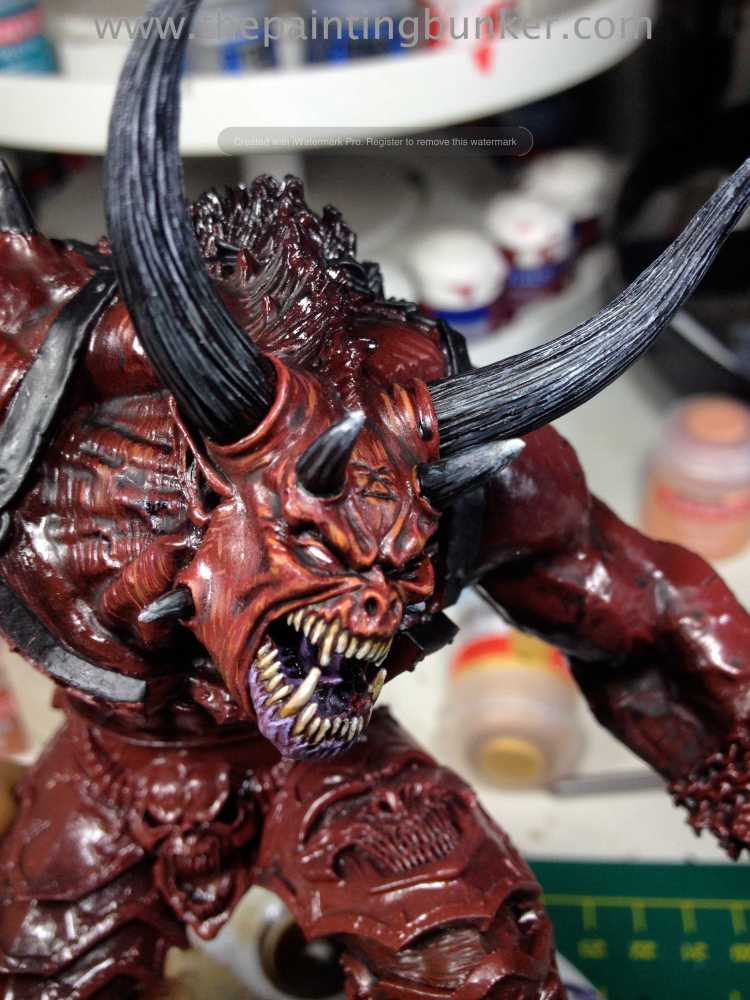 Forge World Bloodthirster Greater Daemon of Khorne WIP #2 (4/4)