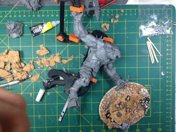 Forgeworld Greater Daemon of Khorn WIP 11