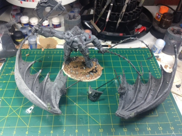 Forgeworld Greater Daemon of Khorn WIP 14