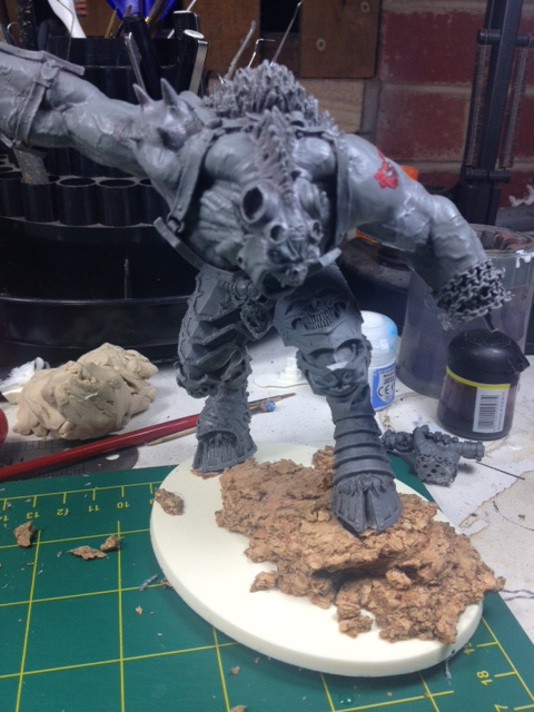 Forgeworld Greater Daemon of Khorn WIP 5