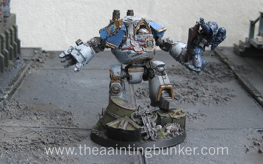 Finished - World Eaters Contemptor Dreadnought (1/3)
