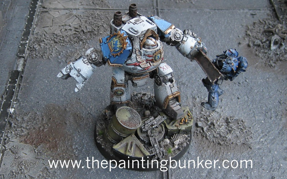 Finished - World Eaters Contemptor Dreadnought (2/3)