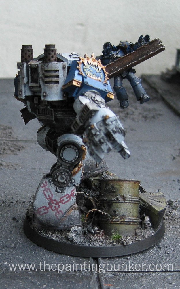 Finished - World Eaters Contemptor Dreadnought (3/3)