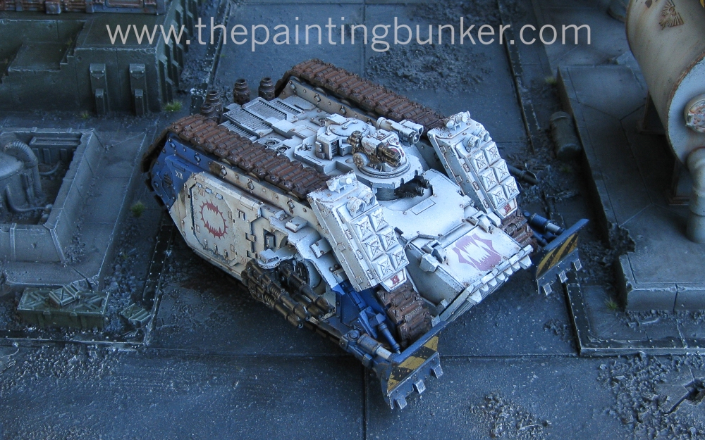 Finished! - World Eaters Spartan Assault Tank (1/6)