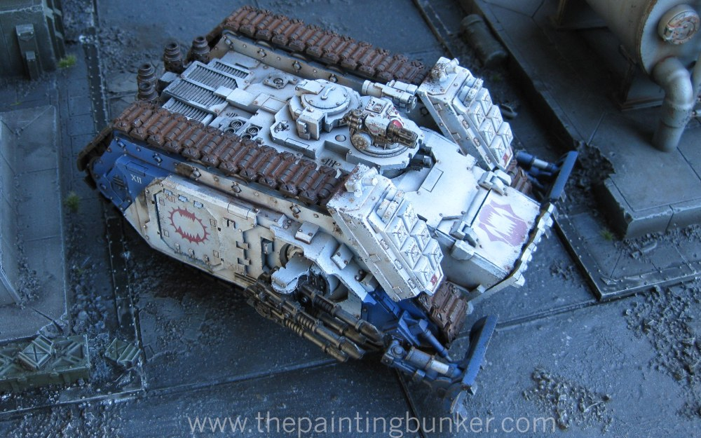 Finished! - World Eaters Spartan Assault Tank (2/6)