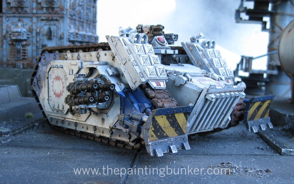 Finished! - World Eaters Spartan Assault Tank (3/6)