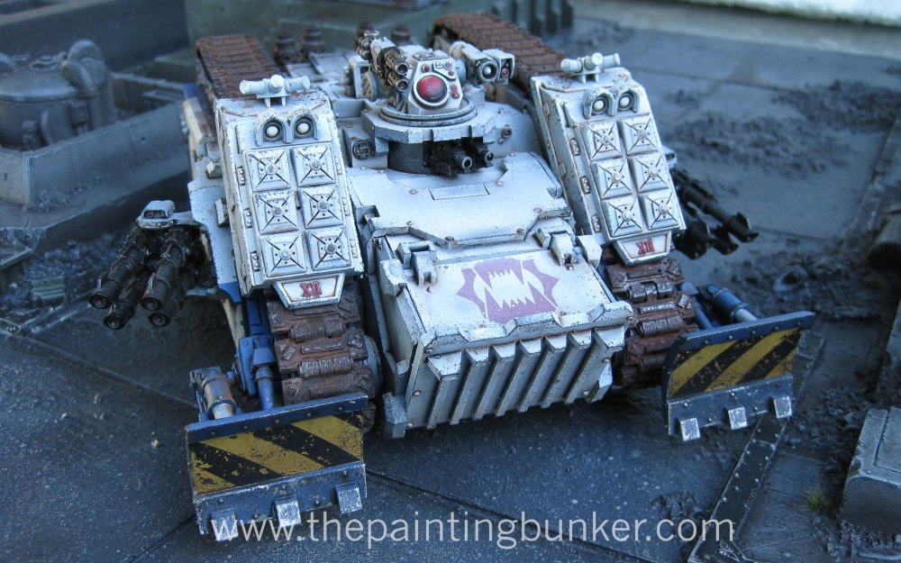 Finished! - World Eaters Spartan Assault Tank (4/6)