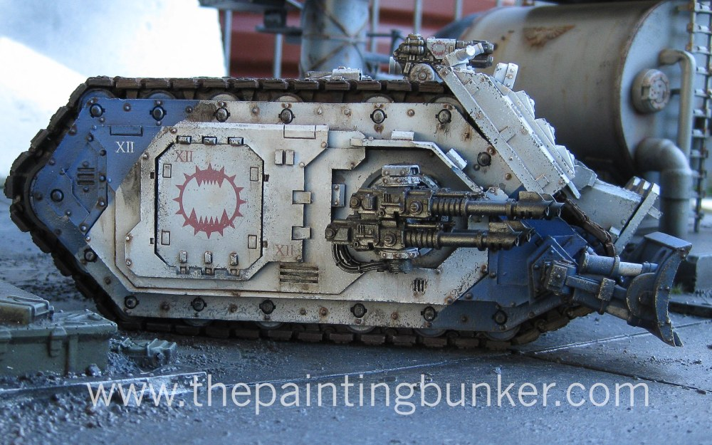 Finished! - World Eaters Spartan Assault Tank (5/6)