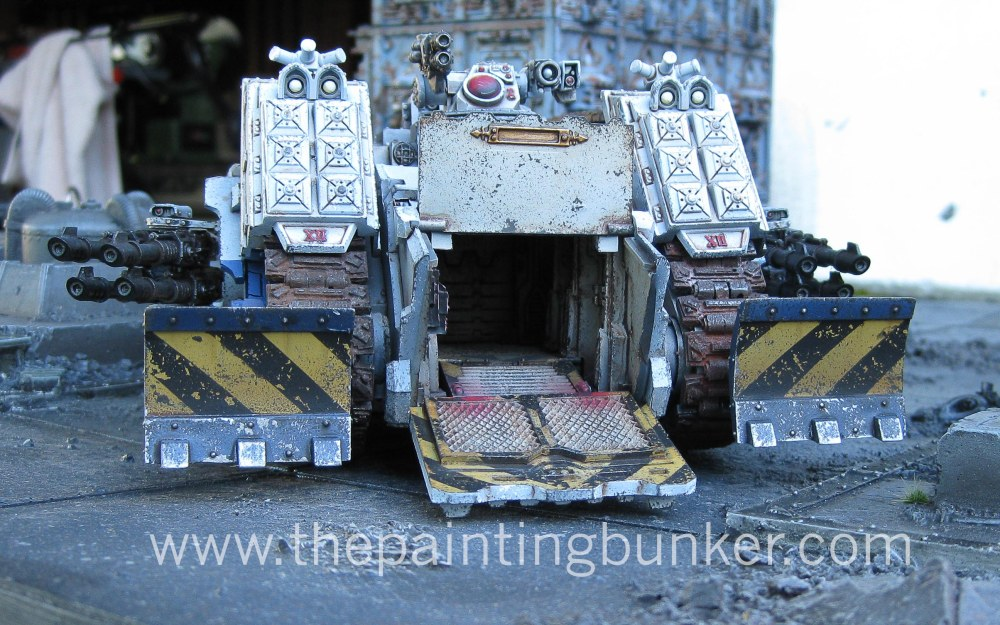 Finished! - World Eaters Spartan Assault Tank (6/6)