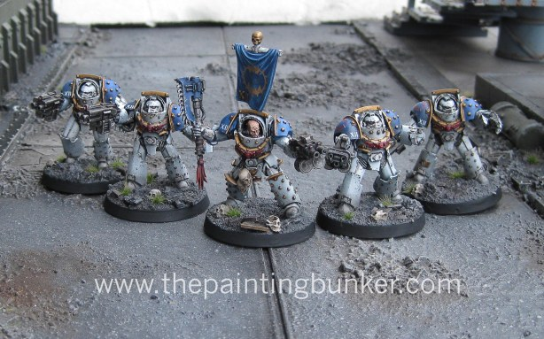 World Eaters Terminator Squad 1