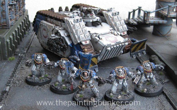 World Eaters Terminator Squad 7