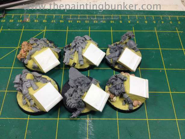 World Eaters Objective Markers