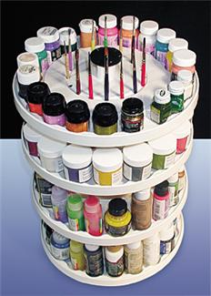 Carrousel paint holder