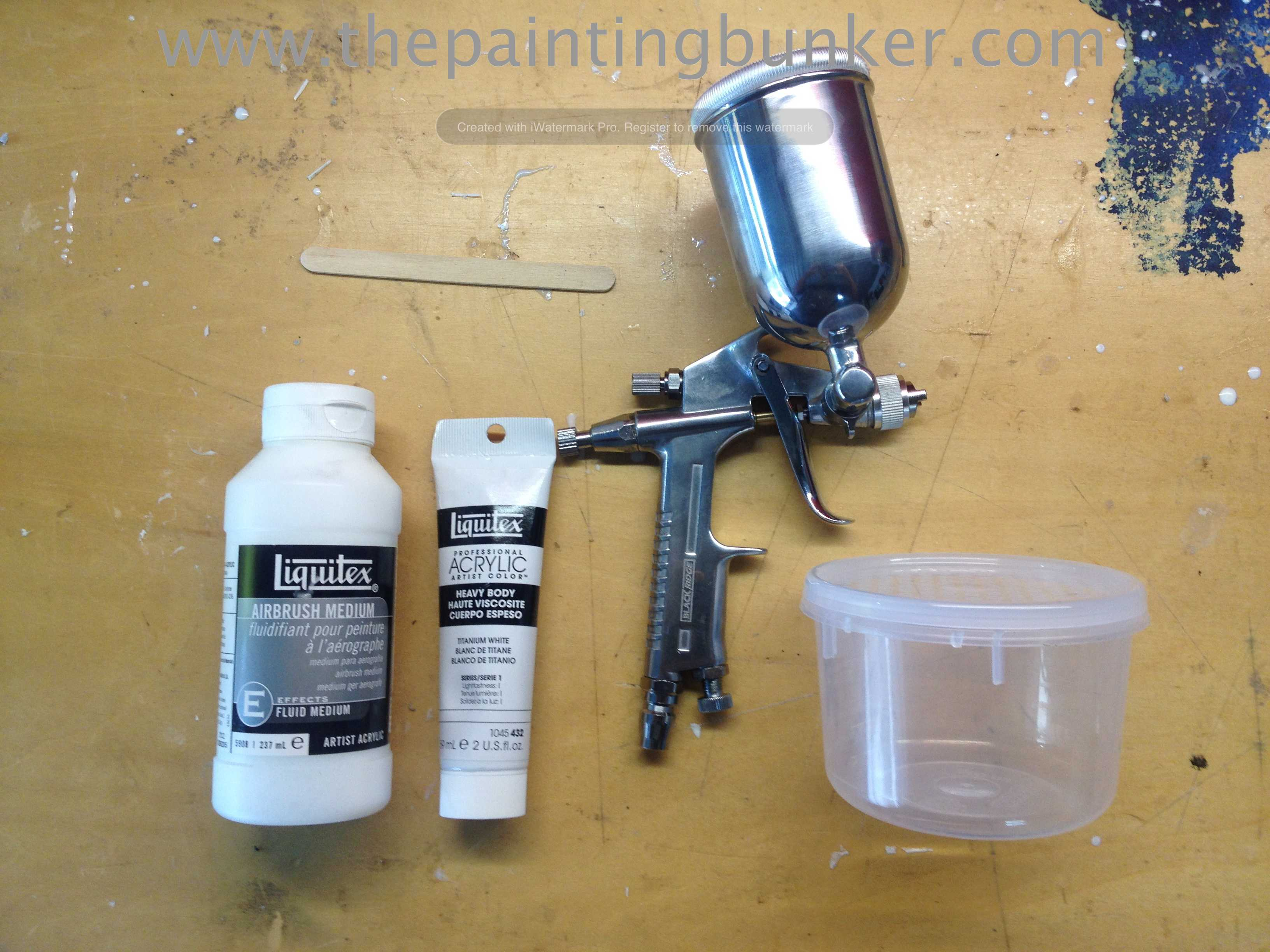 The painting bunker my time well wasted page 5 for Hplv paint sprayer