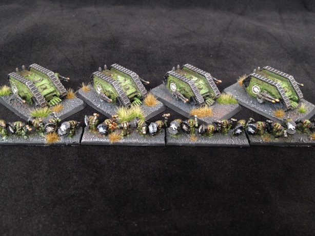 Salamander Land Raider Proteus and Fire Drakes