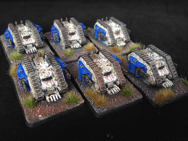 World Eaters Epic Scale Landraiders