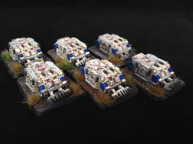 World Eaters Epic Scale Rhinos