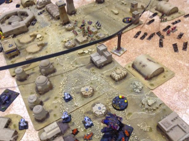 Epic Armageddon - Game against Tyranids