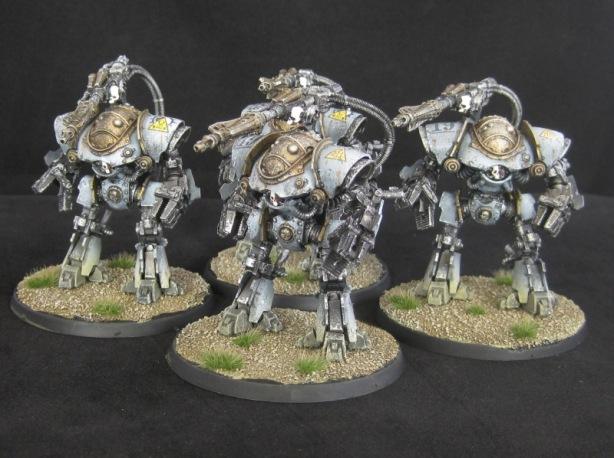 Mechanicum Castellax Battle-Automata with Darkfire Cannon
