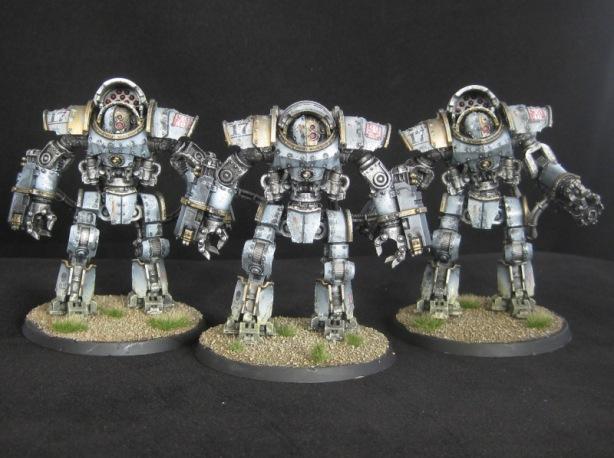 Mechanicum Domitar Class Battle-Automata Maniple